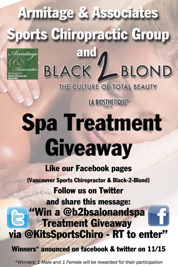 Spa Treatment Giveaway