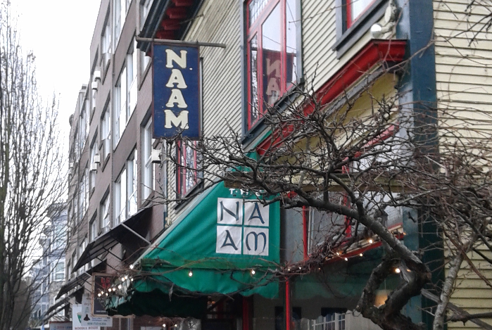 The Naam: A Vegetarian's Heaven and a Vancouver Landmark