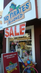 No Pirates Allowed - Storefront