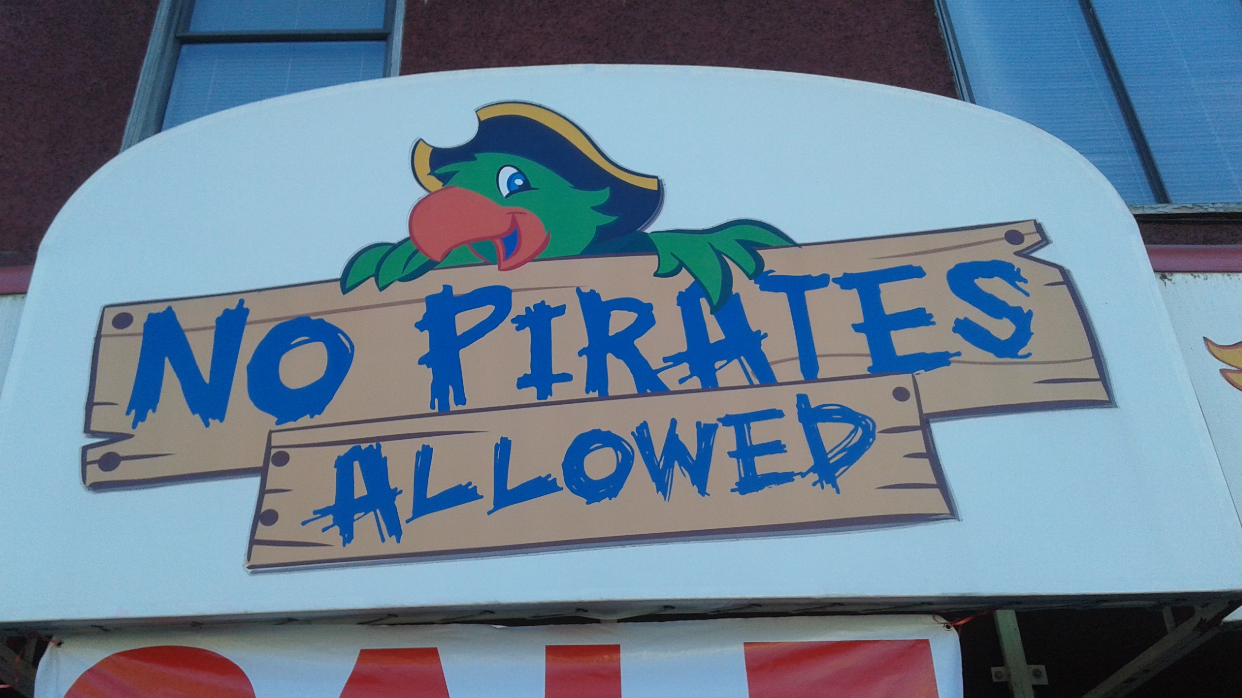 No Pirates Allowed in this Toy Store
