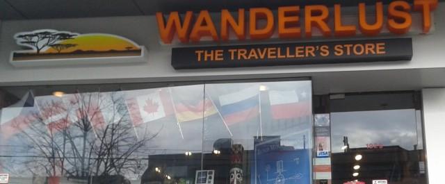 Wanderlust; a traveller's paradise
